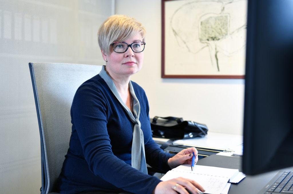 Olga Hass, Auszubildende bei Plus Advise