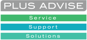 Plus Advise Service Support Solutions Logo