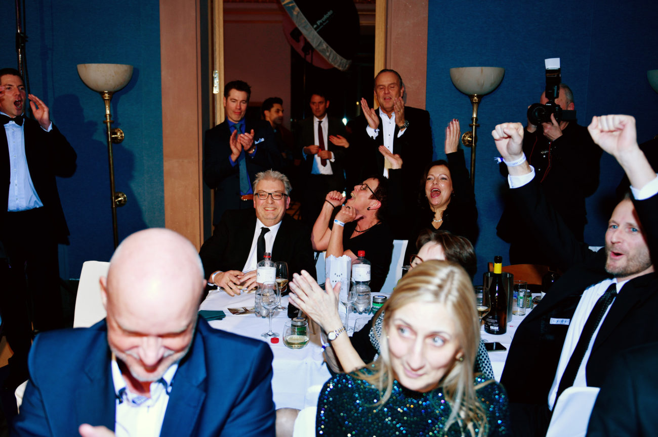 Spendezeit Gala - Plus Advise feiert Erfolg pr